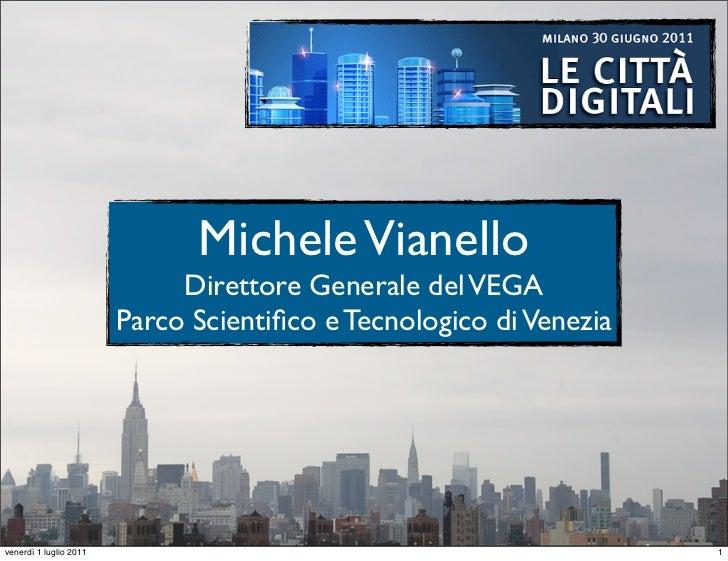 Presentazione Smart Cities Milano 30 giugno 2011
