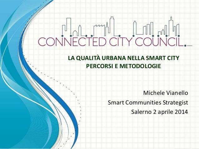 Smart Cities Una opportunità di Lavoro e di Sviluppo per il Sud