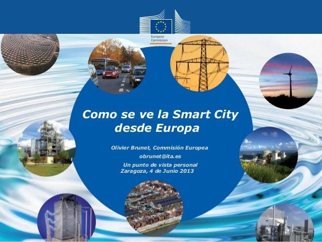 Cómo se ve la Smart City desde Europa