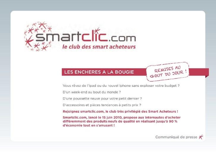Smartclic Lancement
