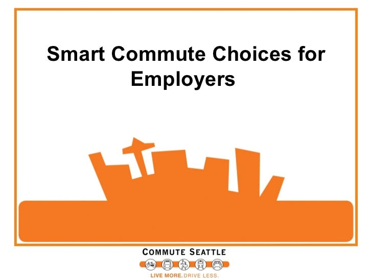 Smart Commute Choices for       Employers