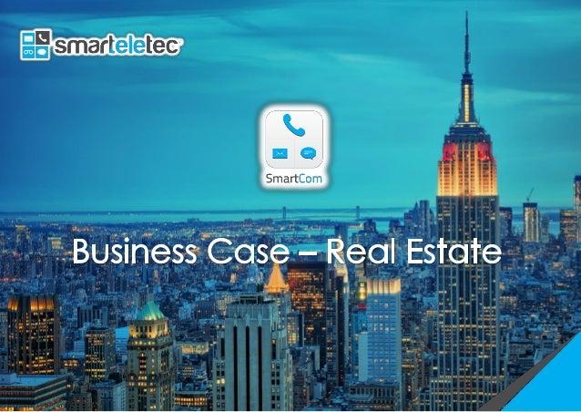 SmartCom Real Estate Business Case