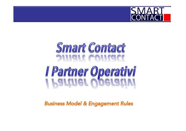 Smart contact  per i partners operativi
