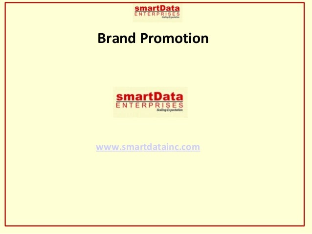 smartdata inc brand promotion - Top in oDesk and Elance