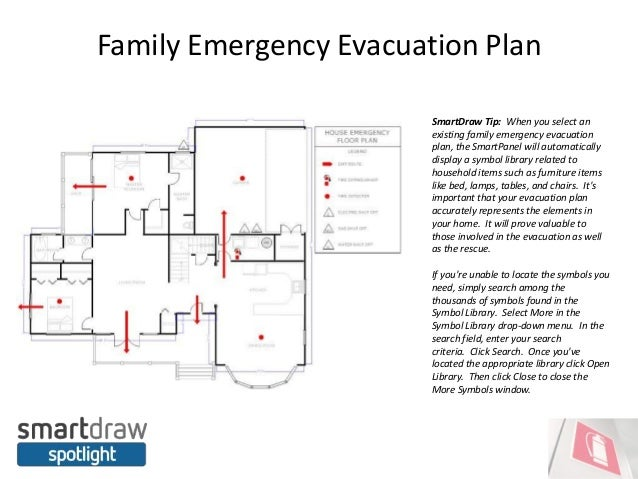 smartdraw spotlight do you have an emergency evacuation plan. Black Bedroom Furniture Sets. Home Design Ideas