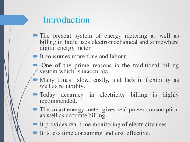 Engineering research papers on wireless prepayment metering