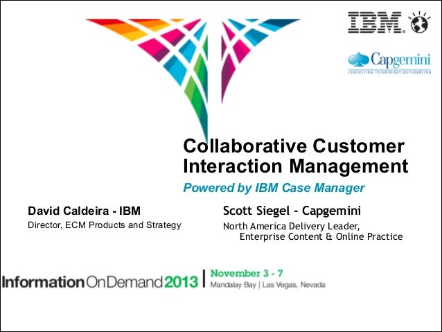 Collaborative Customer Interaction Management