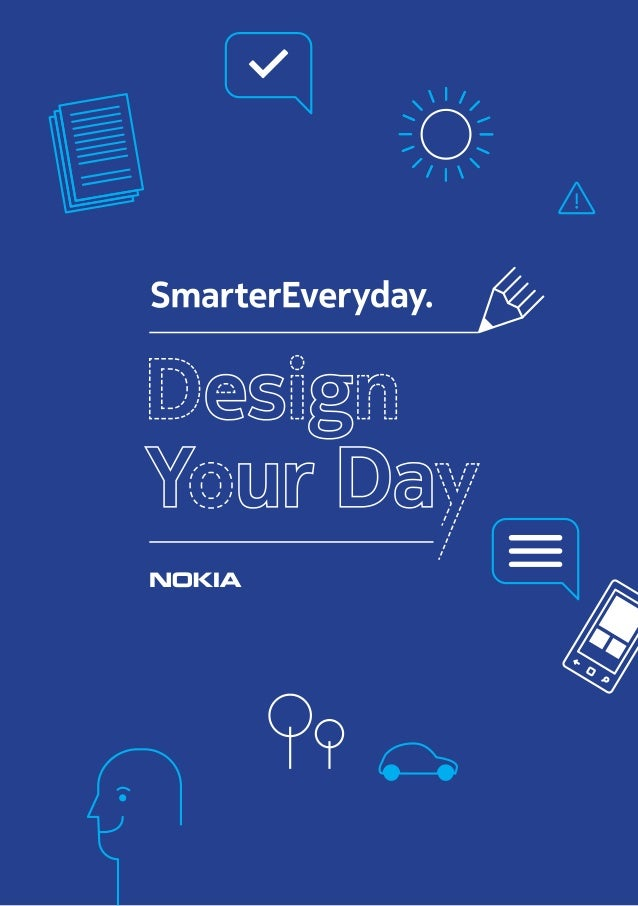 Design Your Day ebook - Nokia - #SmarterEveryday