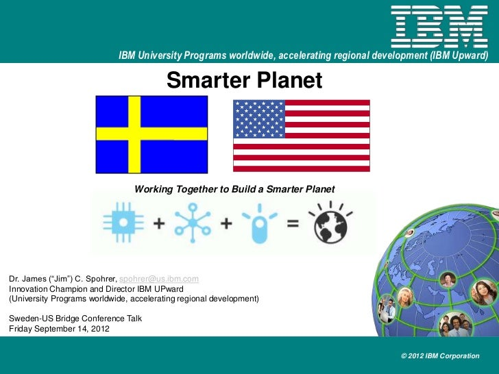 IBM University Programs worldwide, accelerating regional development (IBM Upward)                                         ...