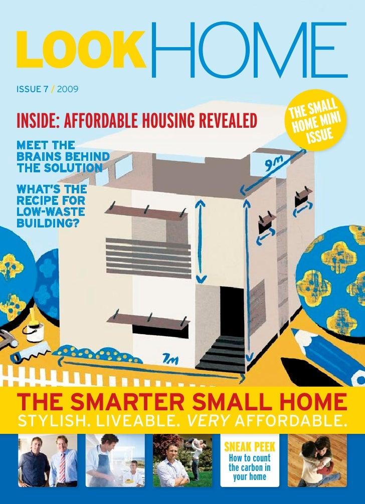 Smarter small home brochure for Smarter small homes