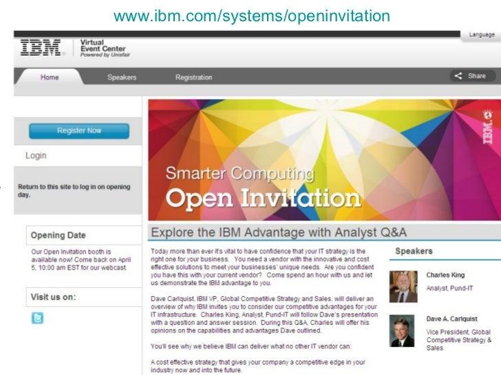 www.ibm.com/systems/openinvitation