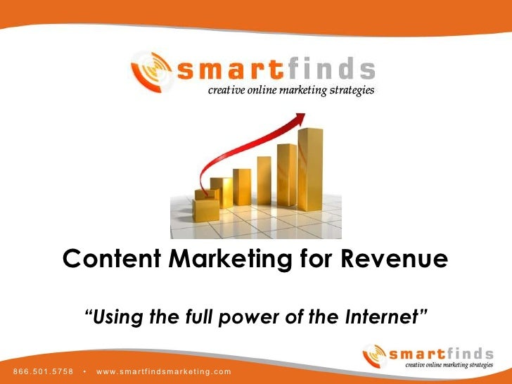 Smartfinds Internet Marketing Content Marketing