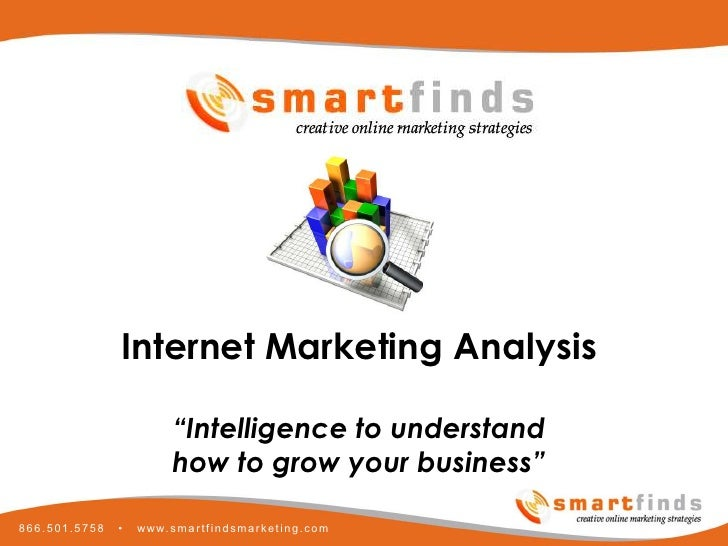 Smartfinds Internet Marketing Analysis