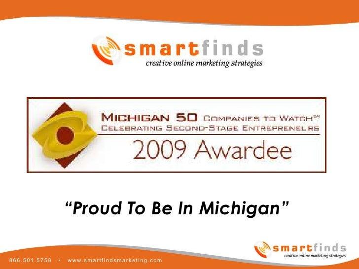 Smartfinds Internet Marketing Michigan 50 Companies To Watch
