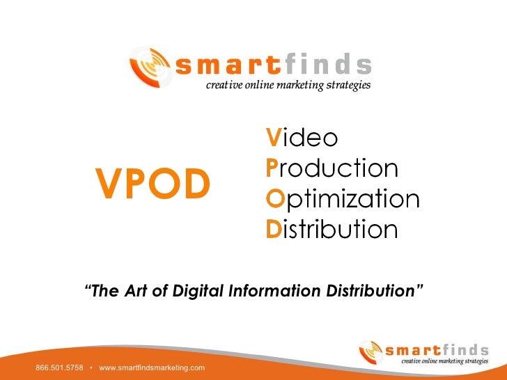 """ The Art of Digital Information Distribution"" VPOD"
