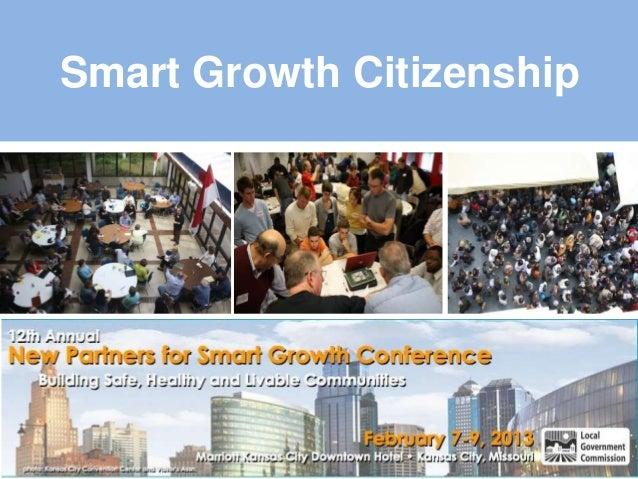 Smart growth citizenship