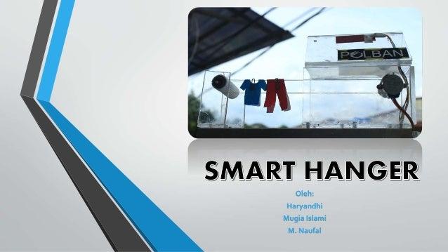 Smart hanger based on arduino uno