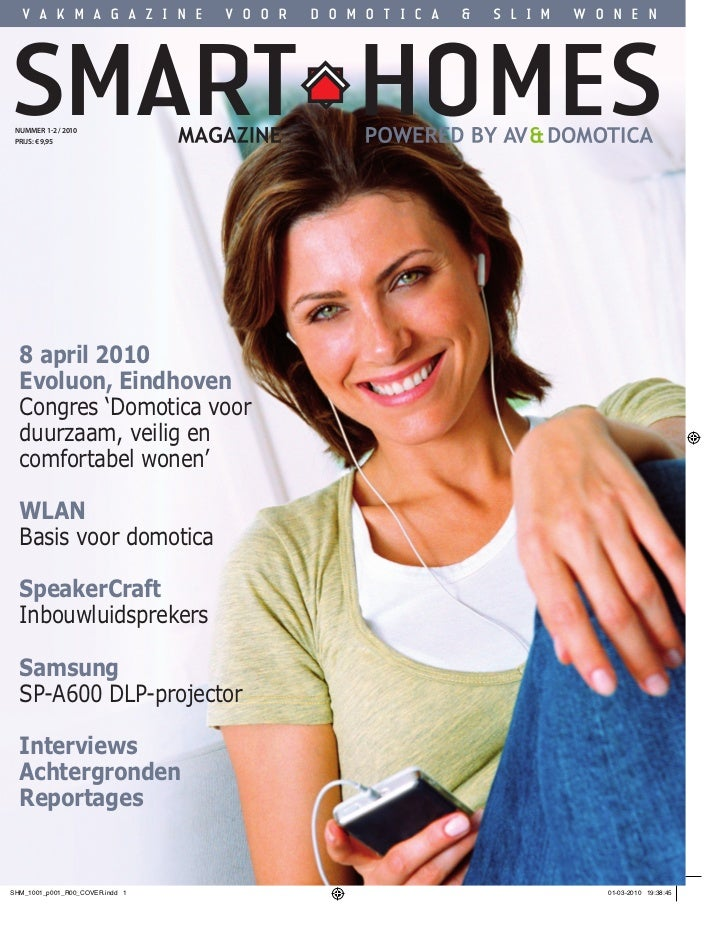 smart homes magazine maart 2010. Black Bedroom Furniture Sets. Home Design Ideas