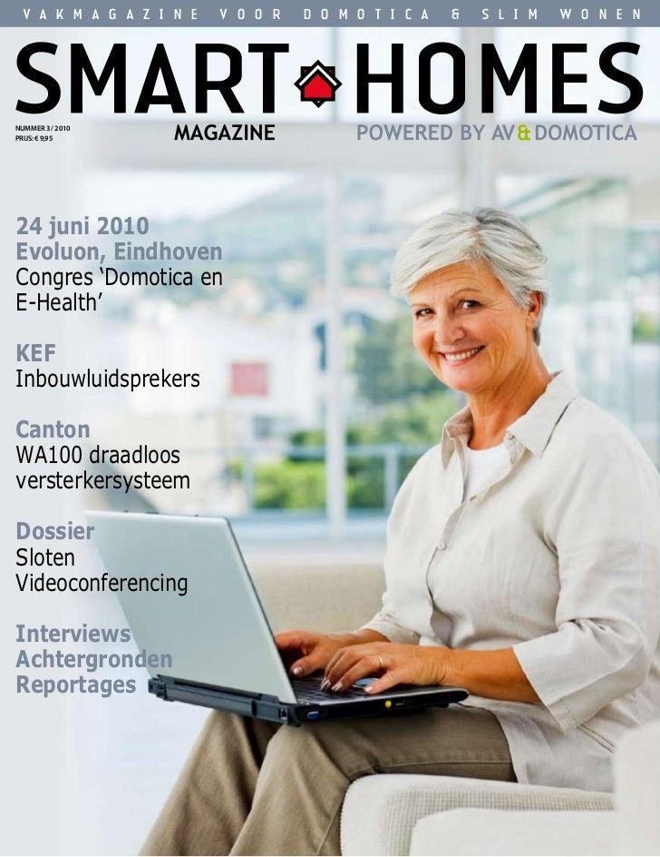 Smart Homes Magazine - Mei 2010