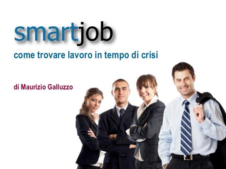 Smartjob - presentazione