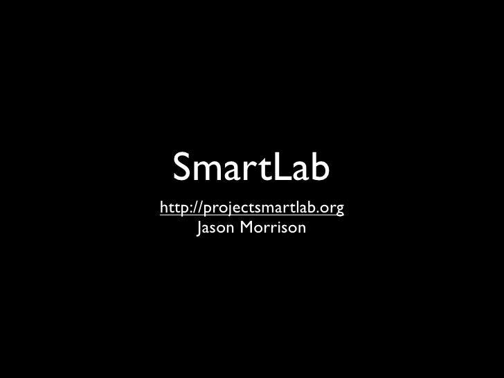 SmartLab at Ignite Boston 5