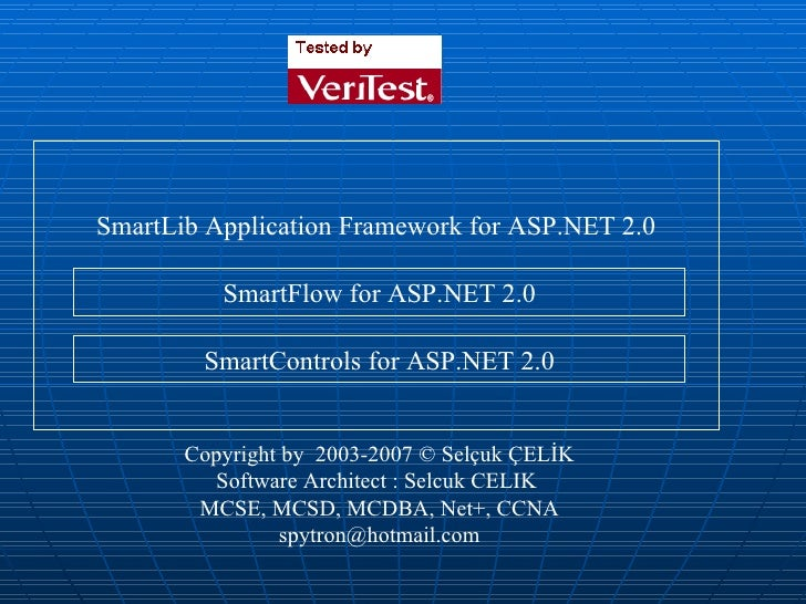 SLC ASP.NET Framework and BPM (Eng)