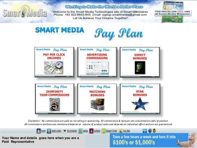 Smart Media Technologies - Business Opportunity Marketing Plan