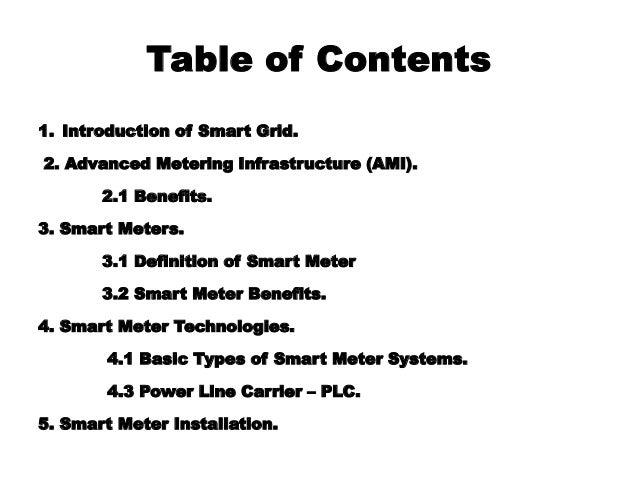 Smart energy metering system