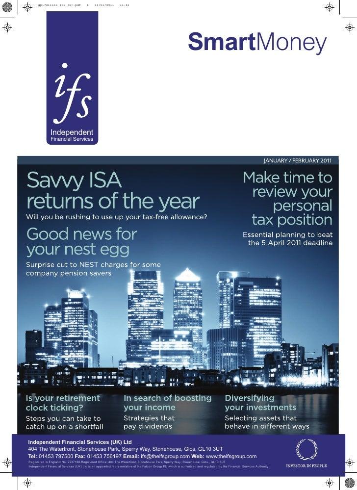 Smart Money Magazine Jan / Feb 2011