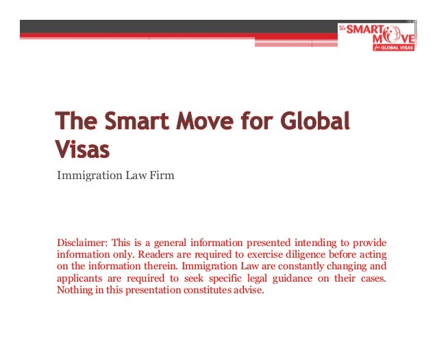 Smart Move 4 Global Visas - Immigration Law Firm