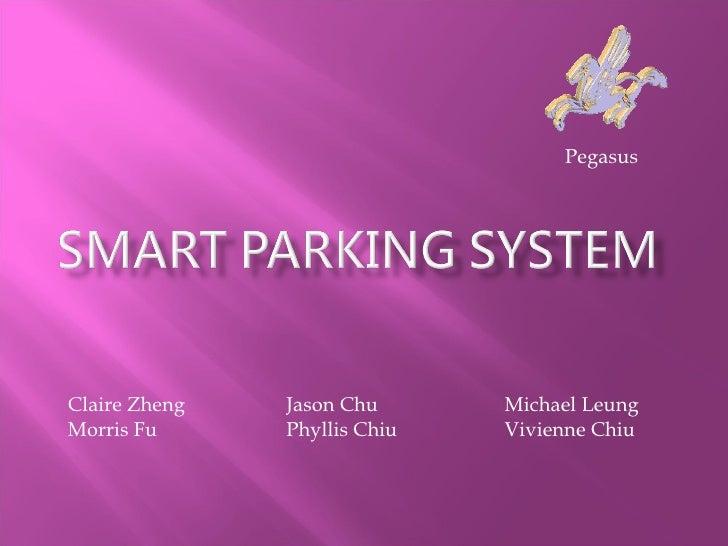 Smart parking system   pegasus 9 june2010