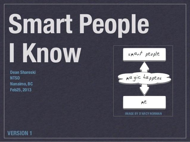 Smart People I Know v1