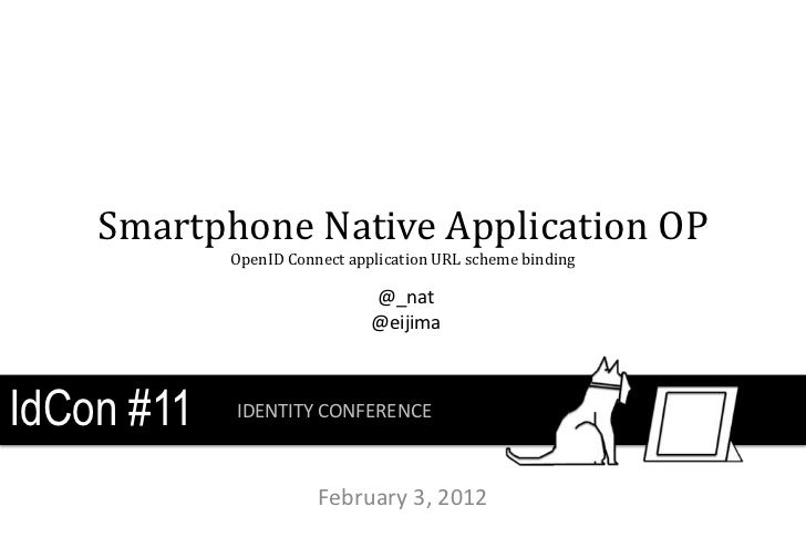 Smartphone Native Application OP            OpenID Connect application URL scheme binding                              @_n...