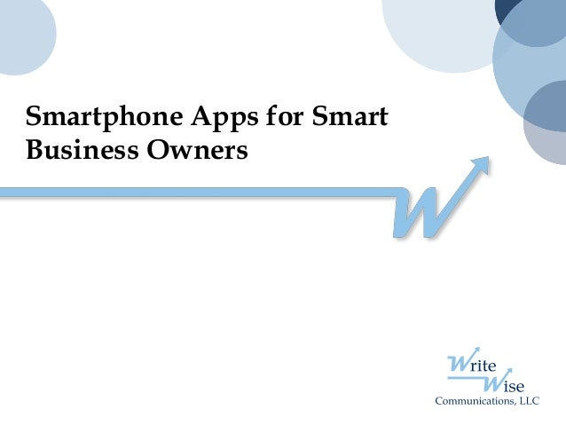 Smartphone Apps for Smart Business Owners