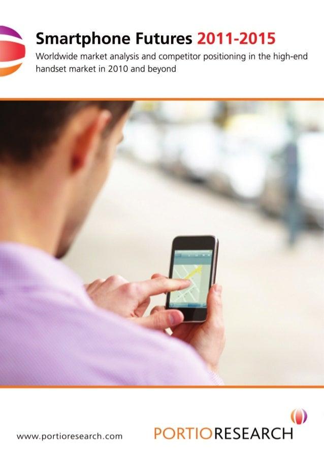 Smartphone futures 2011 2015