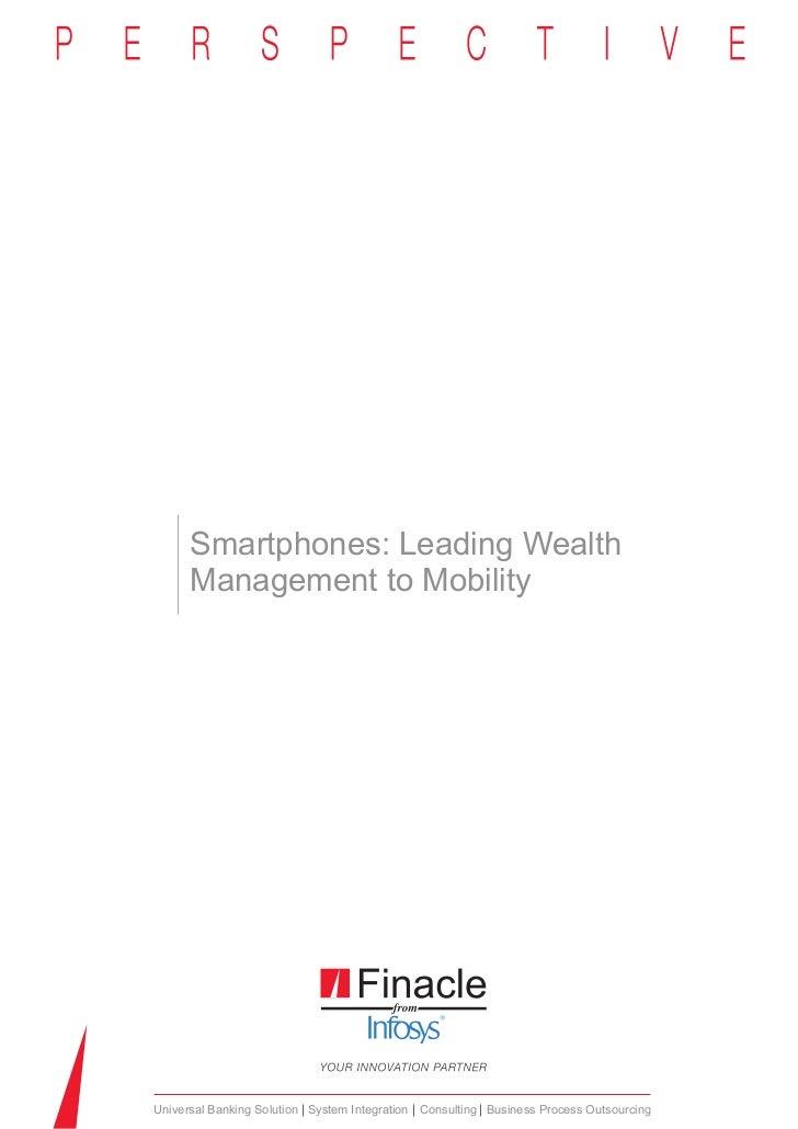 Smartphone leading wealth managment