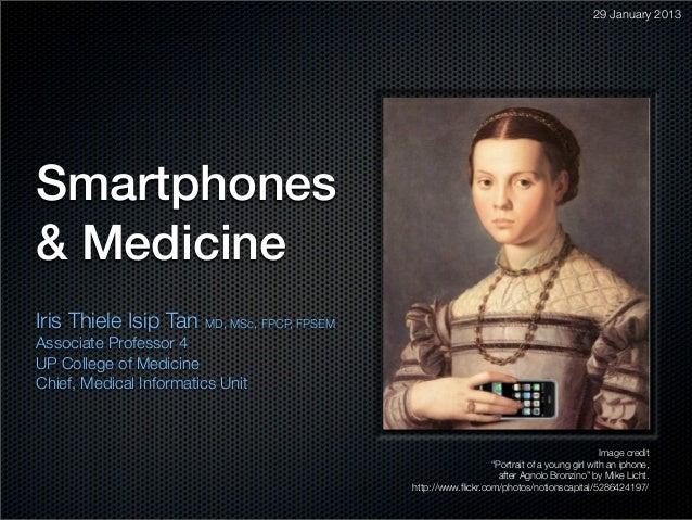 Smartphones & Medicine