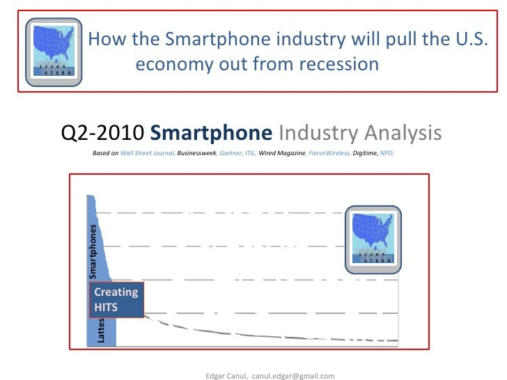 How the Smartphone industry will pull the U.S. 1 2 3 4 5   6 7 8 9 0                   economy out from recession         ...