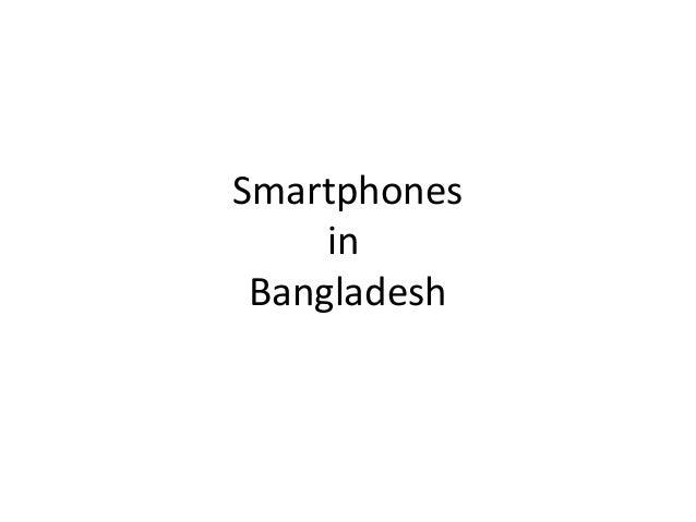 Smartphones in bangladesh