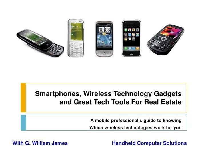 Smartphones Mobile Tech 2010 Webinar