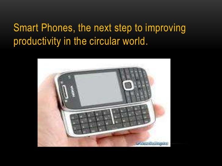 Smart phones the new generation of technology revolution3