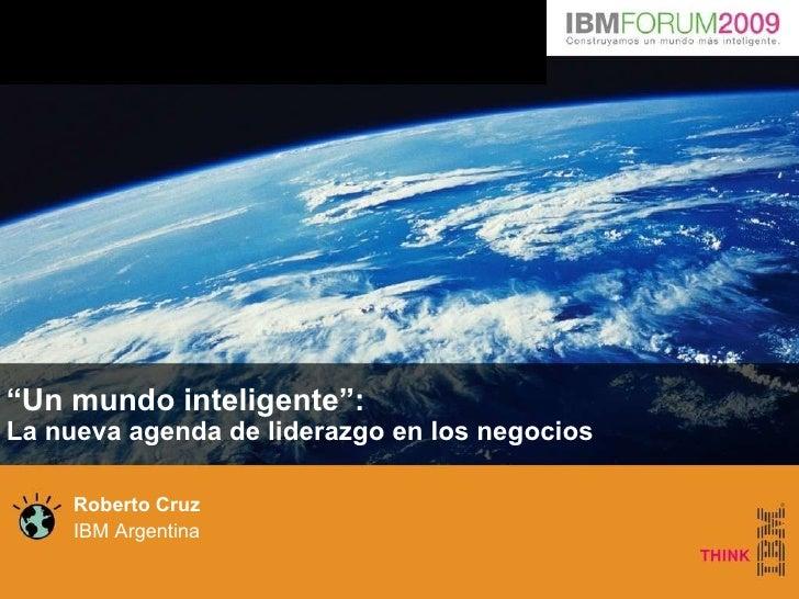 Smart Planet Ibm Forum Argentina Interior