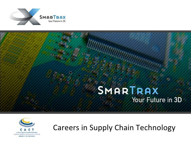 Careers in Supply Chain Technology