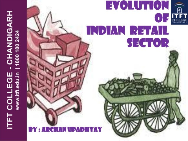 EVOLUTION OF INDIAN RETAIL SECTOR By : Archan Upadhyay
