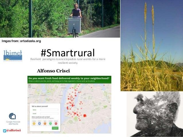 Smartrural Digital resilience for rural worlds