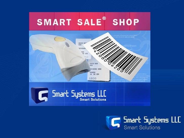 Smart Sale Shop software presentation
