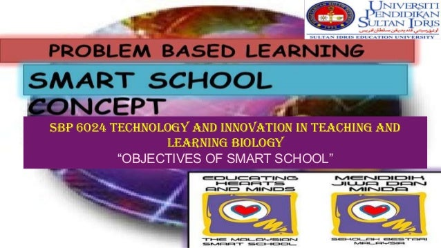 "SBP 6024 Technology and Innovation in Teaching and Learning Biology ""OBJECTIVES OF SMART SCHOOL"""