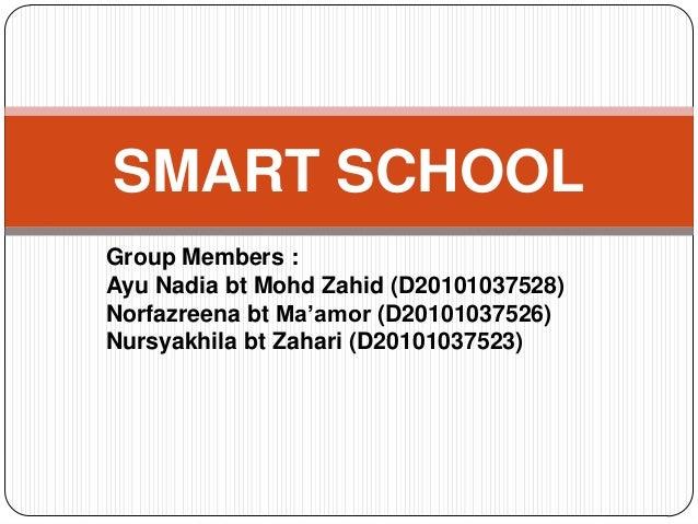 Smart school slide ict