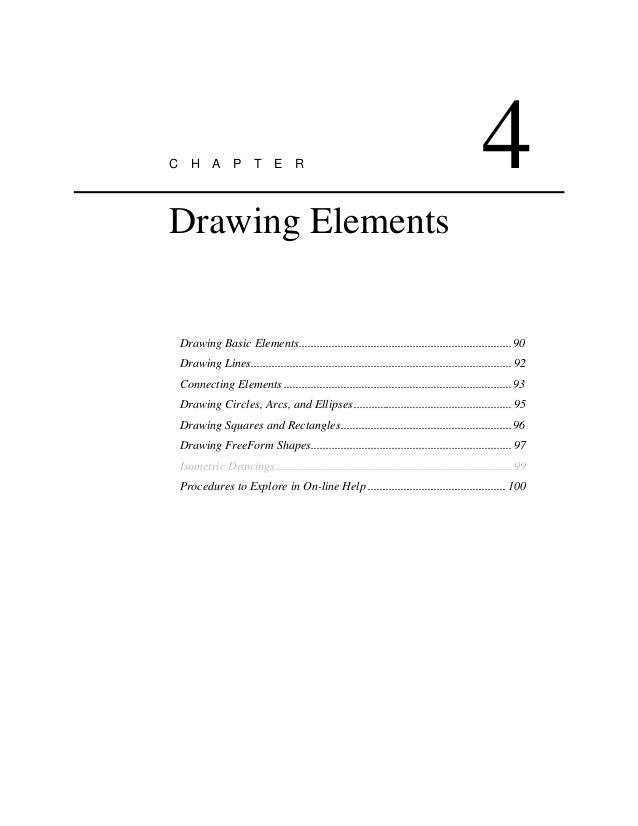 Basic Elements of Drawing Elements Drawing Basic