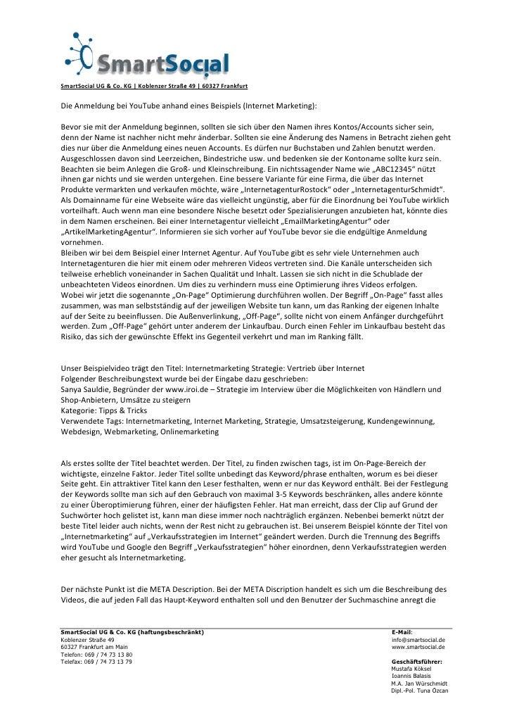 SmartSocia         alUG&Co.KG|KoblenzerStraße               nkfurt                                         e49|...